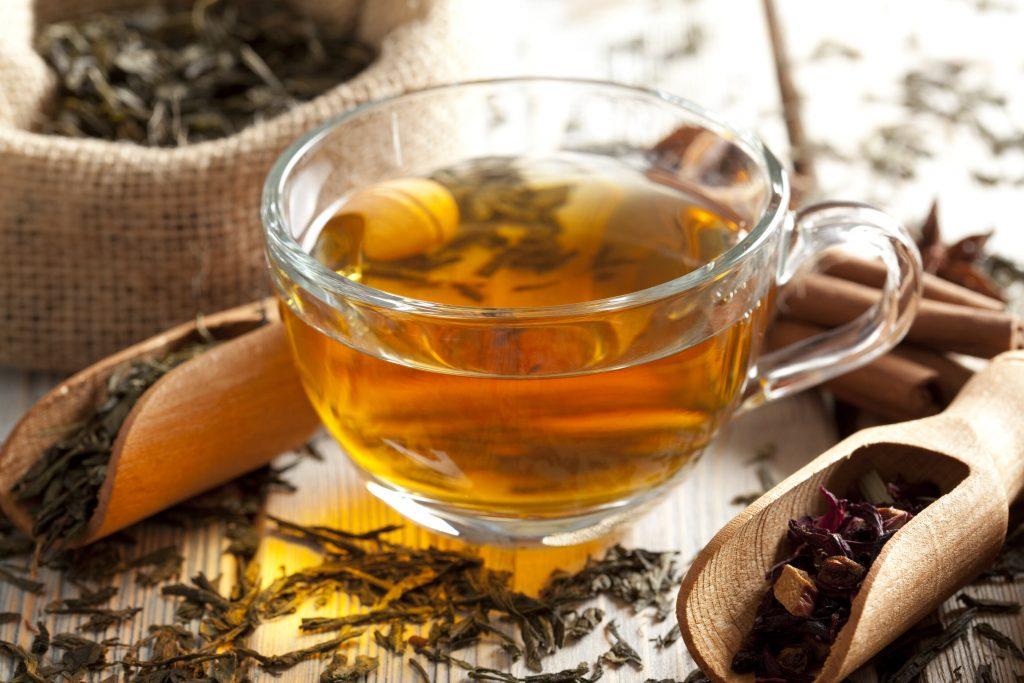 Hot Spiced Tea Recipe, spiced black tea mix with orange juice, cinnamon, and cloves