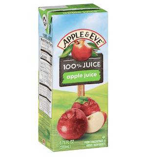 Apple & Eve 100% Juice, Apple