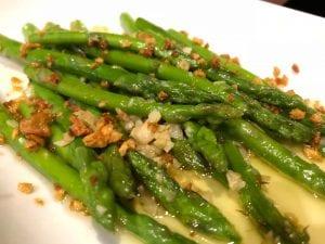 Asparagus with Miso Lemon Dressing Recipe