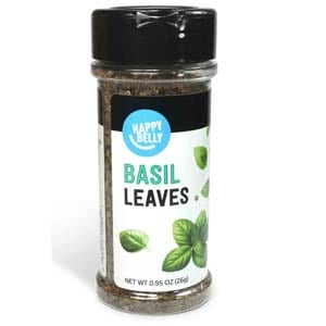 Amazon Brand - Happy Belly Basil Leaves