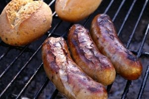 Brats and Beer on the Grill Recipe