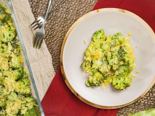 Broccoli & Cheese Casserole Recipe