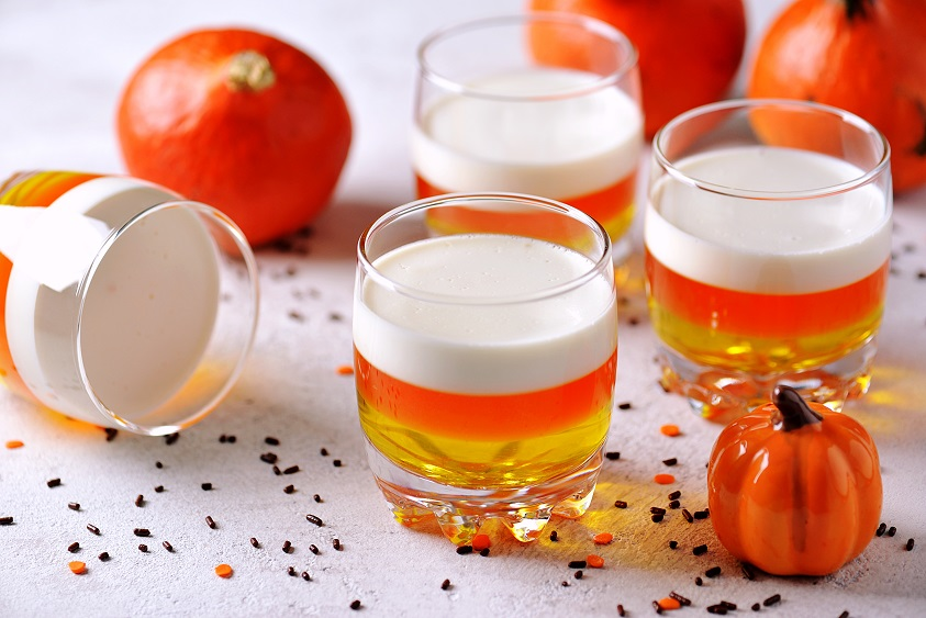 candy corn shooters recipe