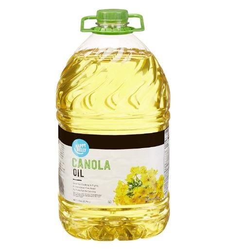 Amazon Brand - Happy Belly Canola Oil