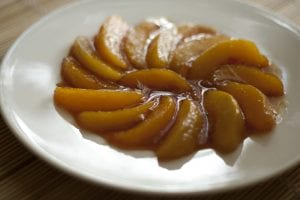 Caramel Peaches Recipe