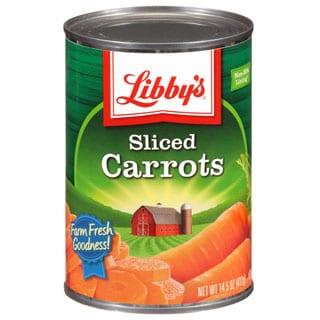Libby's Sliced Carrots