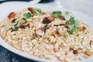 Cheesy Gooey Mushroom Rice Bake Recipe