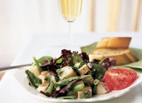Chicken, Red Potato, and Green Bean Salad Recipe