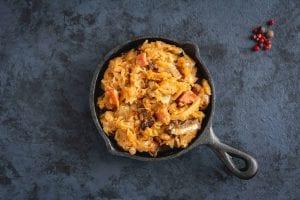 Chicken Sausage and Sauerkraut Recipe