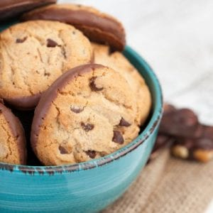 Chocolate Chip Cookies With Chocolate Bottom Recipe