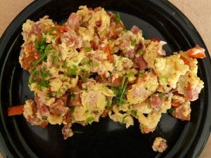 Chorizo Scrambled Eggs Recipe