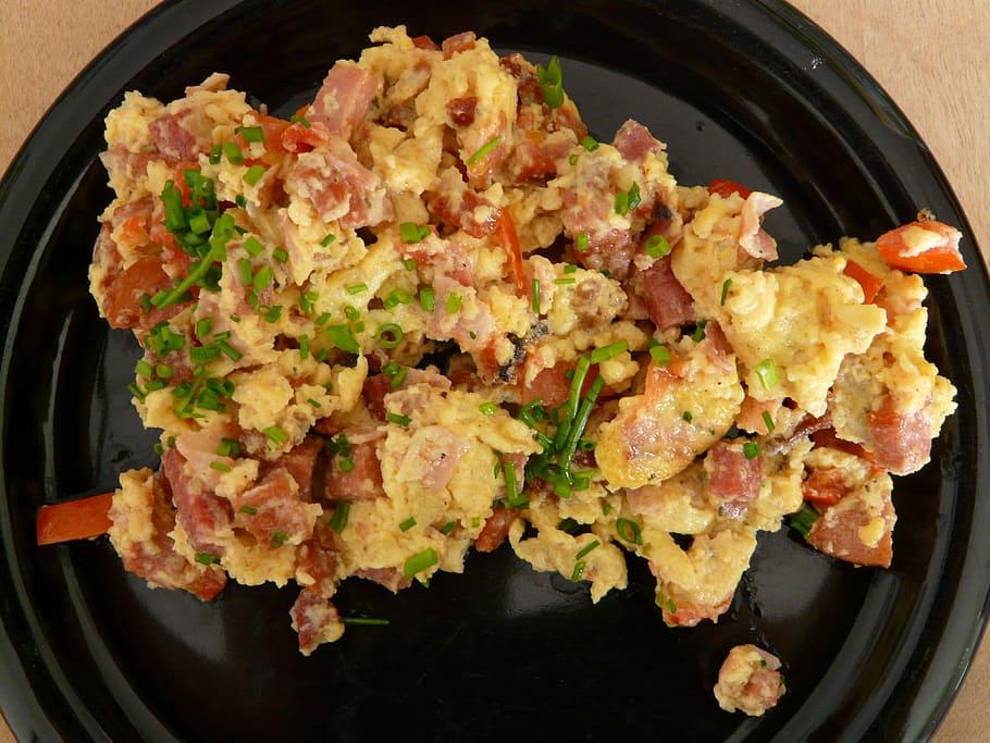 Chorizo Scrambled Eggs Recipe
