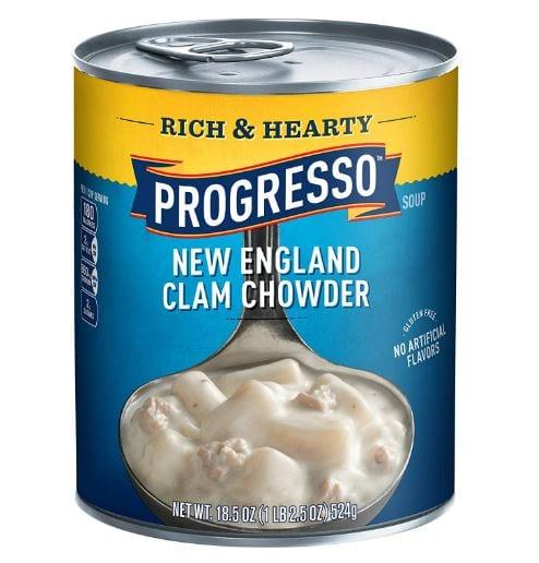 Progresso Rich & Hearty, New England Clam Chowder