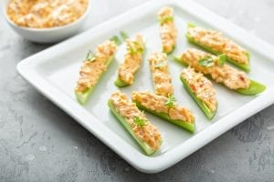 Clam-Stuffed Celery Recipe