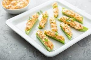 Clam-Stuffed Celery Recipe