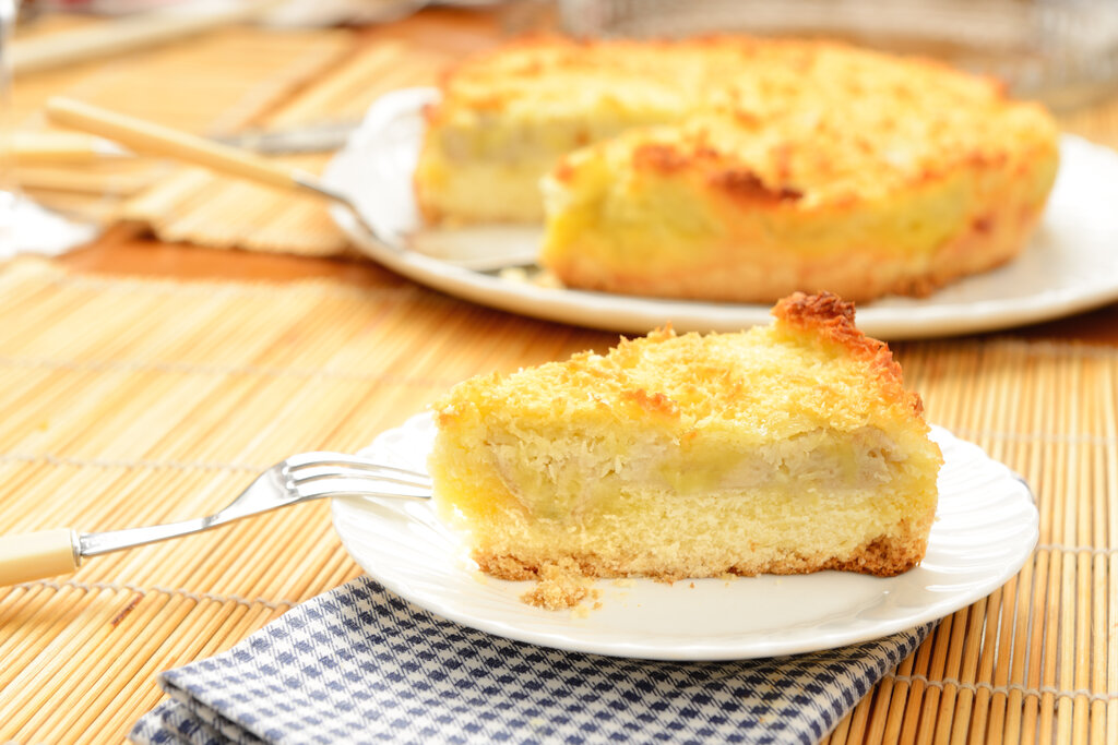 Coconut Pie Recipe, easy impossible coconut custard pie