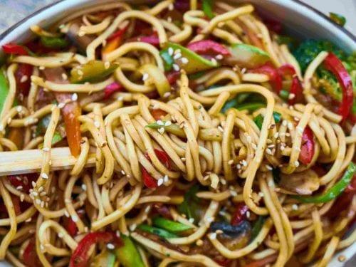 delicious sesame noodle