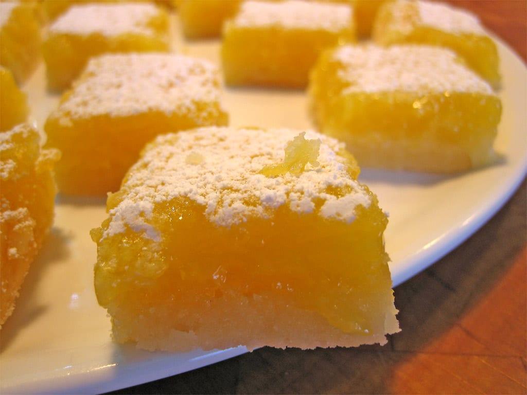 Copycat Aunt Susie's Lemon Shortbread Bars Recipe