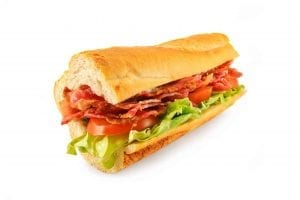 Copycat Homemade Subway BLT Recipe