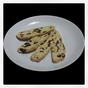 Cranberry Biscotti Recipe