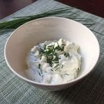cream cheese and ham with vegetable dip
