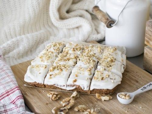 delicious cream cheese banana bread