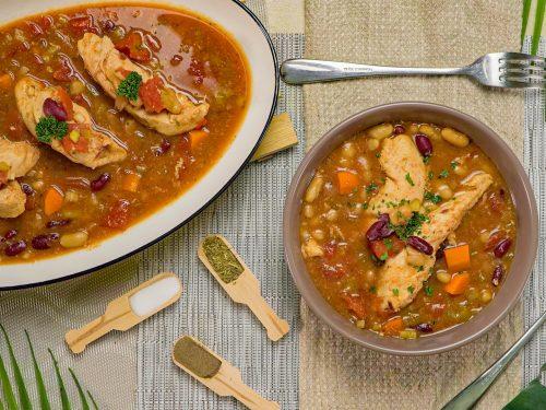 Crockpot Italian Chicken Stew
