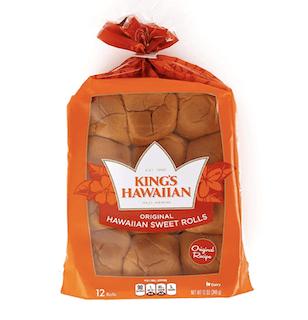 King's Hawaiian Original Hawaiian Sweet Rolls