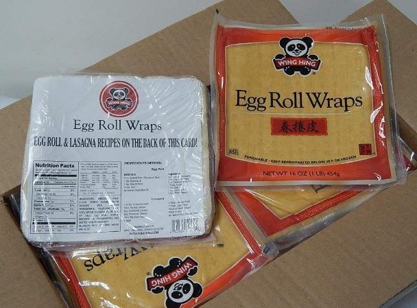 Wing Hing Eggroll Wrap