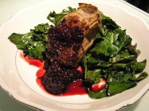Festive Lamb Chops in Raspberry Sauce Recipe