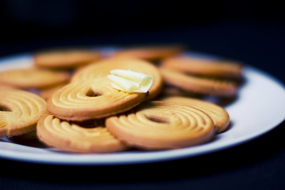 Flaky French Butter Cookies Recipe