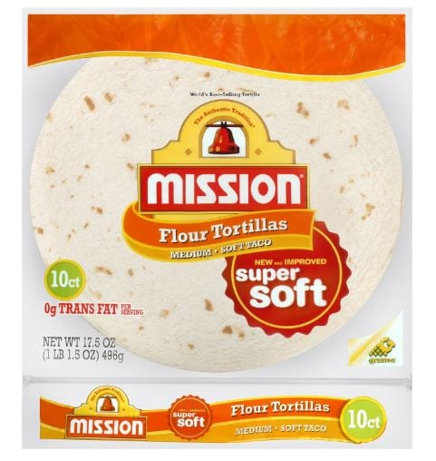 Mission Flour Tortilla Soft Taco