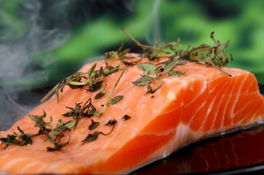 Fresh Rosemary And Dill Salmon Recipe
