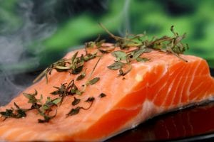 Fresh Rosemary And Dill Salmon Recipe