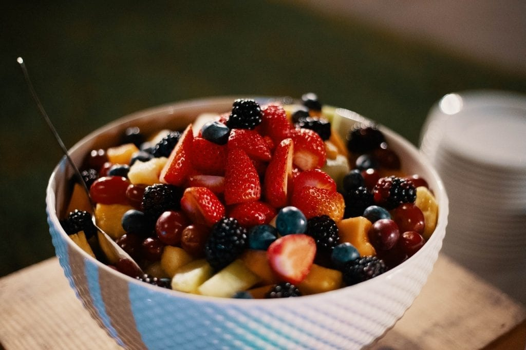 Fruit Salad with Cream Cheese Dressing Recipe