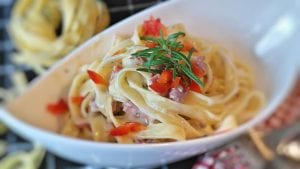 Garlic Butter Linguine Recipe