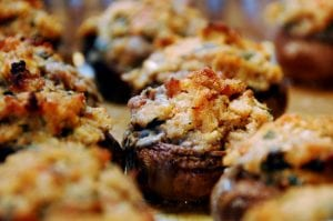 Grand Cheese Stuffed Mushrooms Recipe