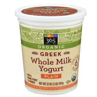365 Everyday Value, Organic Greek Whole Milk Yogurt, Plain