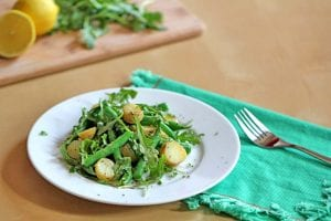 Green Bean and Potato Salad with Miso Dressing Recipe