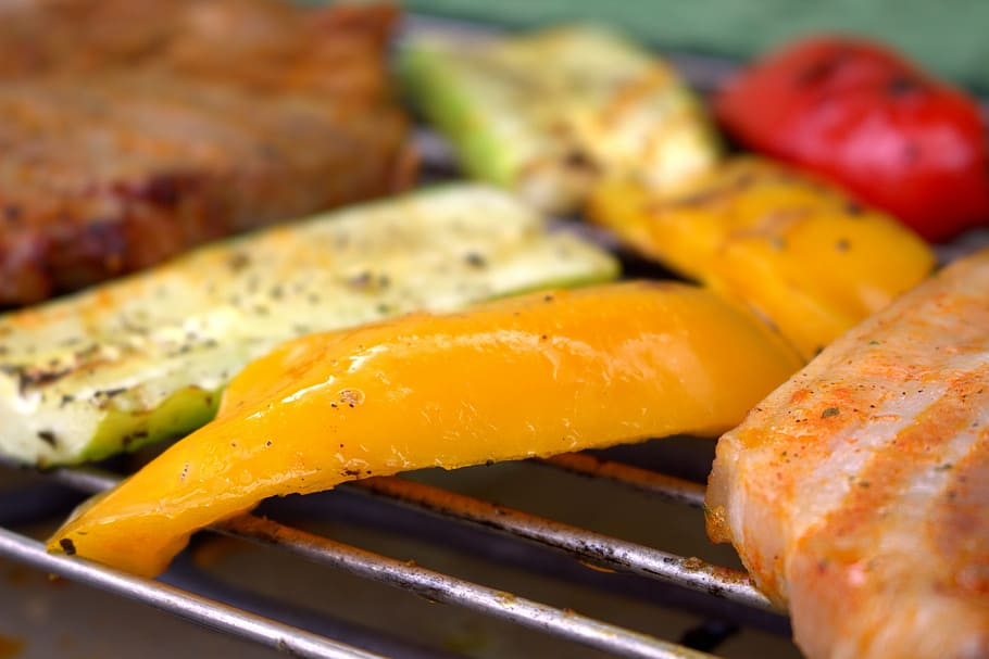 Grilled Mango with Honey Recipe