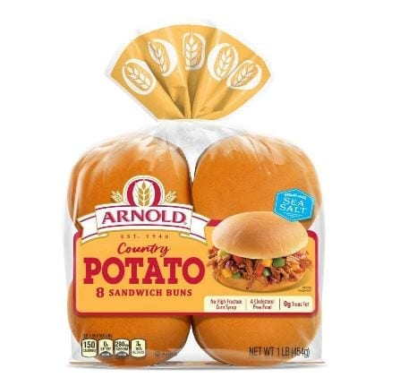 Arnold Country Potato Hamburger Buns