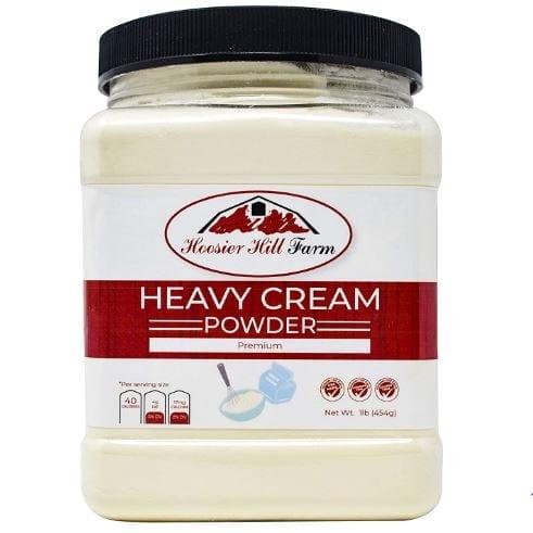 Hoosier Hill Farm Heavy Cream Powder Jar