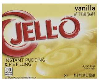 JELL-O Jello Instant Pudding and Pie Filling (Vanilla)