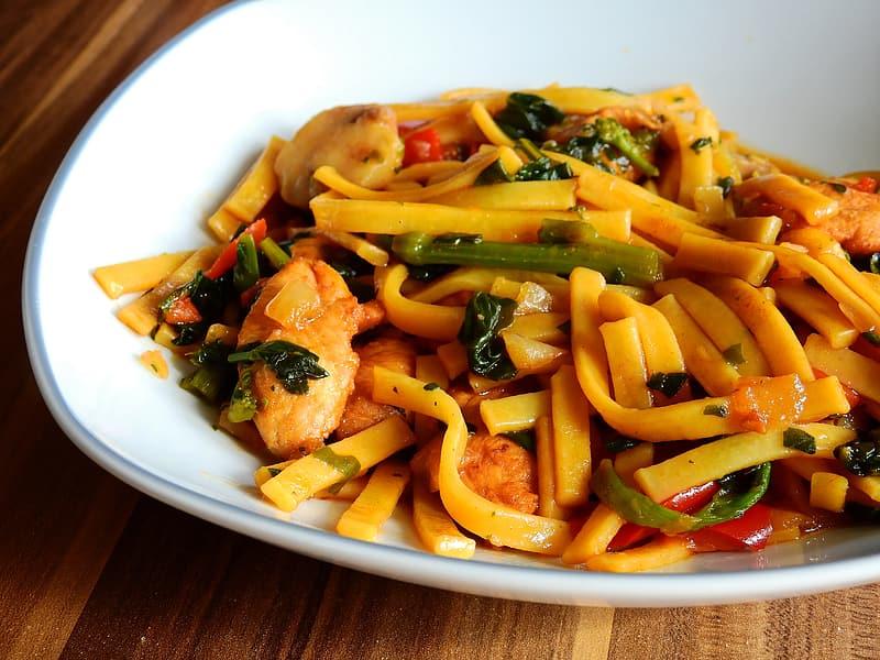 Italian Fettuccine Noodle Stir-Fry Recipe