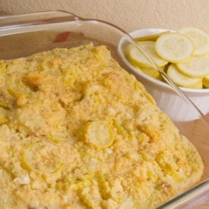 Cheesy and Crunchy Squash Casserole Recipe