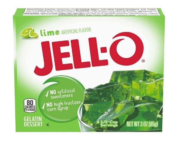 Jell-O Gelatin Mix, Lime