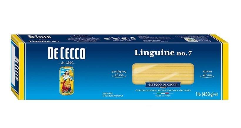 De Cecco Semolina Pasta, Linguine