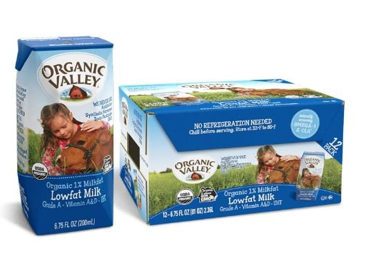 Organic Valley, Milk Boxes