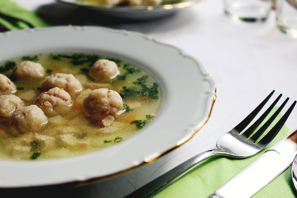 Matzo Ball Chicken Noodle Soup Recipe