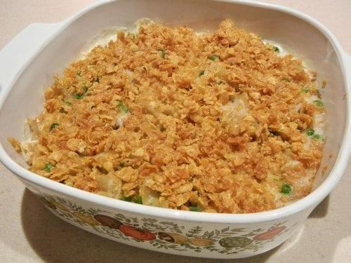 delicious tuna casserole